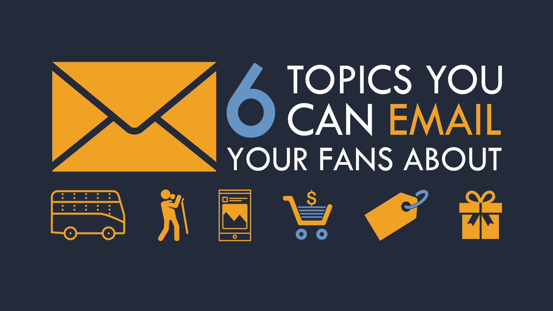 emailing fans